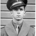 Cadet Keeffe at Aviation Cadet Training, Santa Ana, California, 1942 (Keeffe collection)