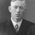 Dutch Resistance member, Johannes Verdorn, who helped row Lt. Keeffe to the town of Dordrecht. (Survived) (Keeffe collection)